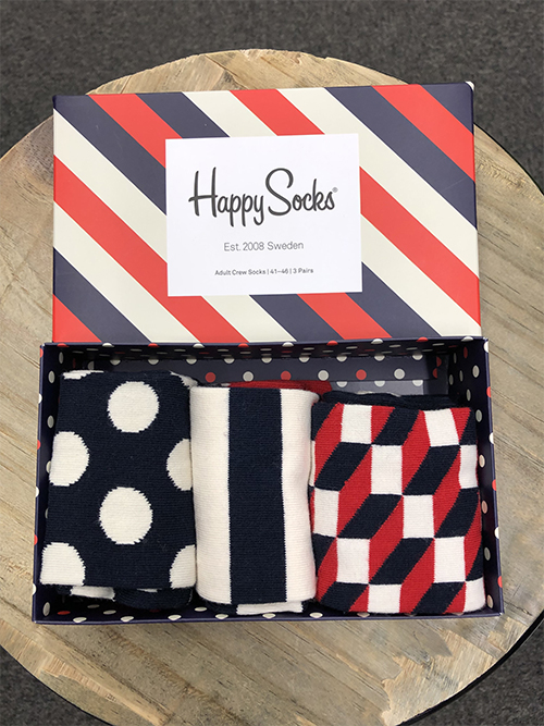 HAPPY-SOCKS Stripe Gift