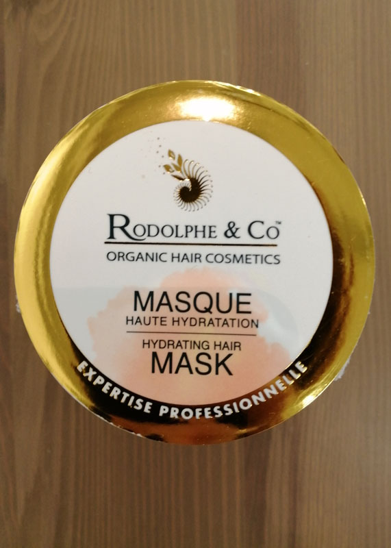 Rodolphe & Co Masque haute hydratation