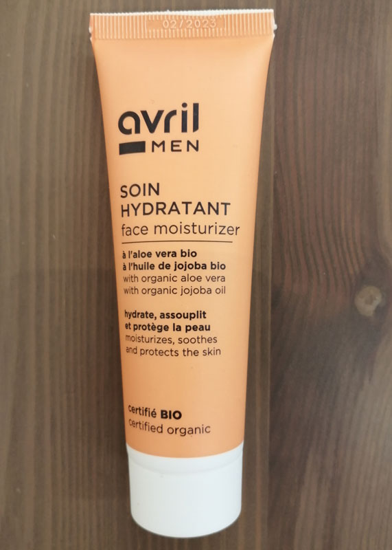 Avril soin hydratant men  bio