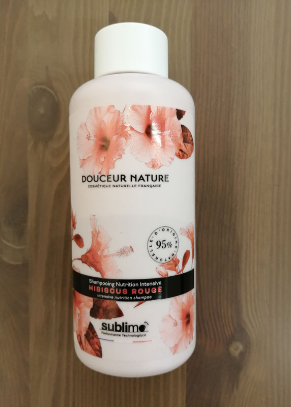 Douceur Nature shampoing nutrition intensive