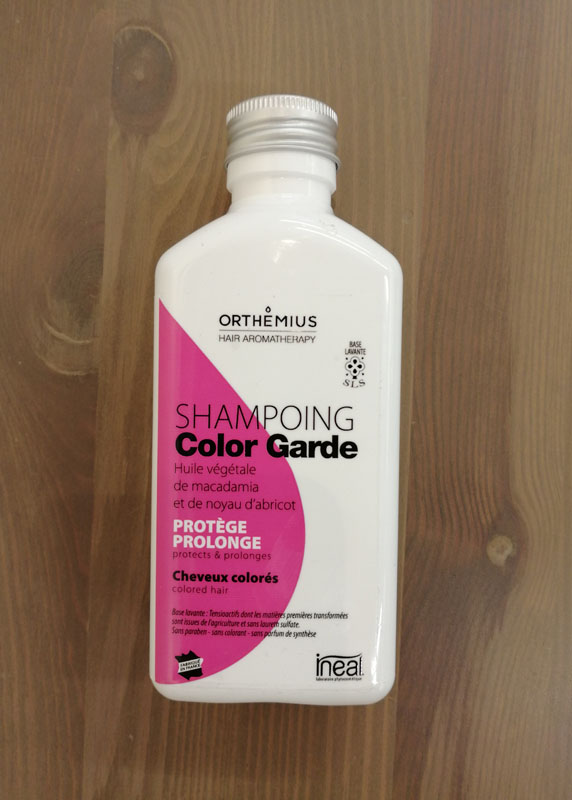ORTHEMIUS, shampoing color garde