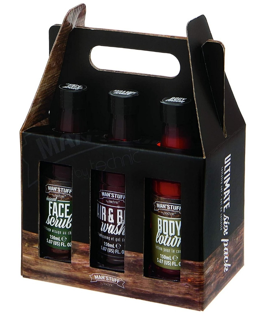 COFFRET CORPS HOMME ULTIMATE 6 PACK MAN'STUFF
