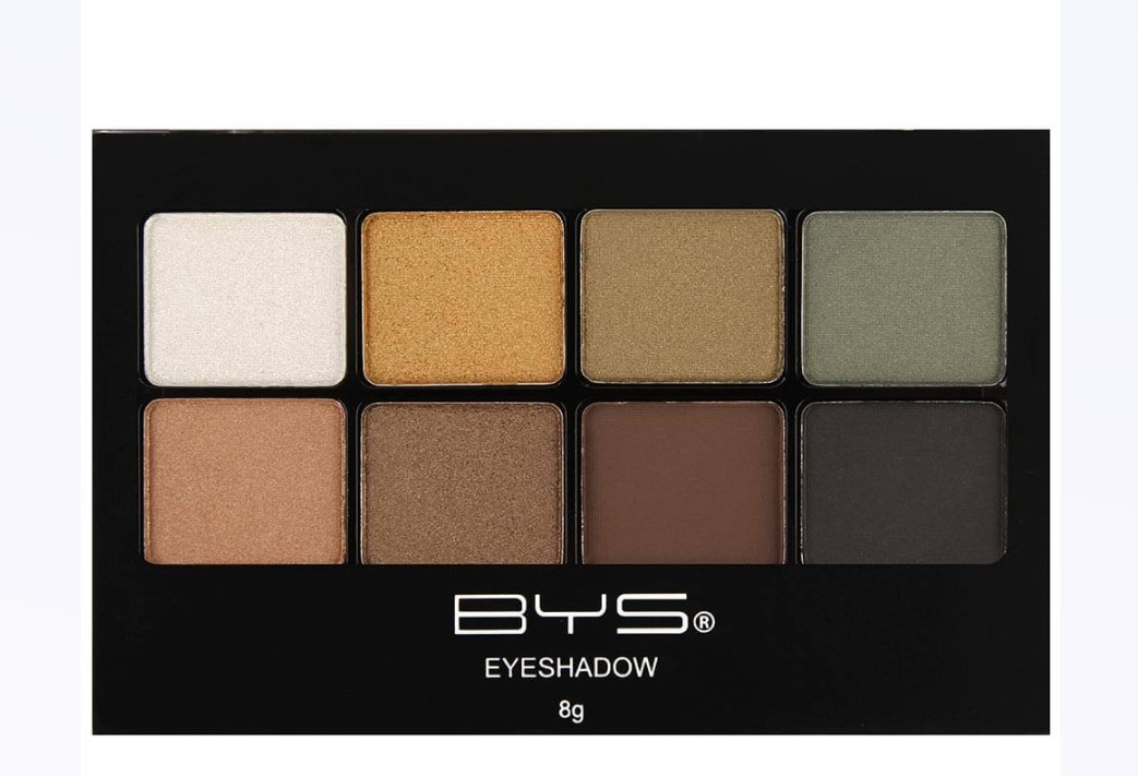 PALETTE 8 FARDS CAMO COUTURE BYS