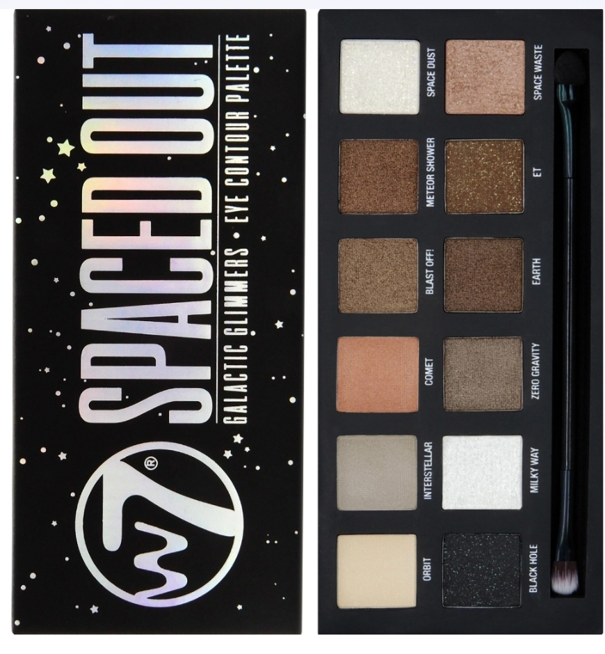 PALETTE 12 FARDS SPACED OUT W7