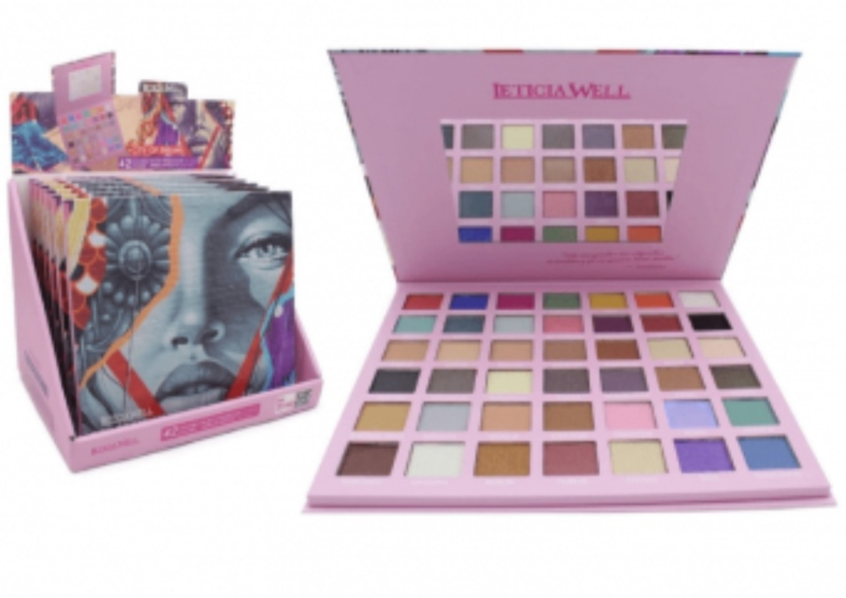 PALETTE 39 FARDS A PAUPIERES LETICIA WELL