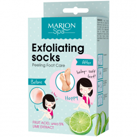 SOIN EXFOLIANT PIEDS CHAUSSETTES