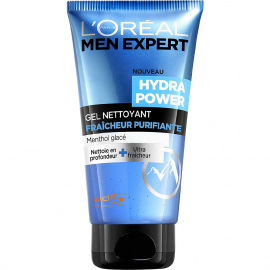 MEN EXPERT GEL NETTOYANT HYDRA POWER