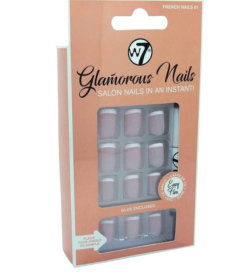 FAUX ONGLES GLAMOROUS NAILS 01