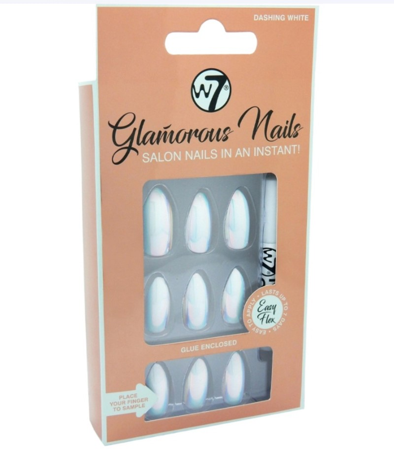 FX ONGLES GLAMOROUS DASHING WHITE