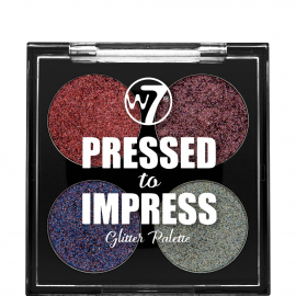 PALETTE 4 FARD A PAUPIERES PRESSED TO IMPRESS RAGE