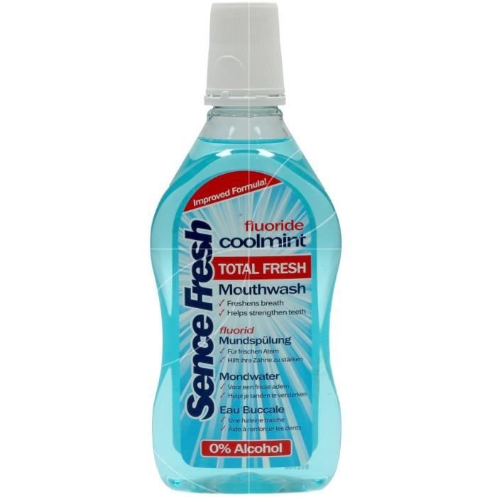 BAIN DE BOUCHE TOTAL FRESH COOLMINT 500