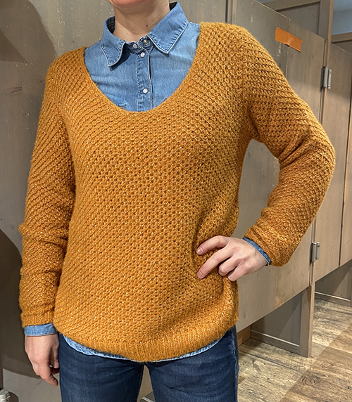 Pull TEDDY SMITH Rouille